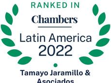 Tamayo Jaramillo & Asociados en Chambers and Partners