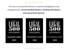 Tamayo Jaramillo & Asociados en The Legal 500