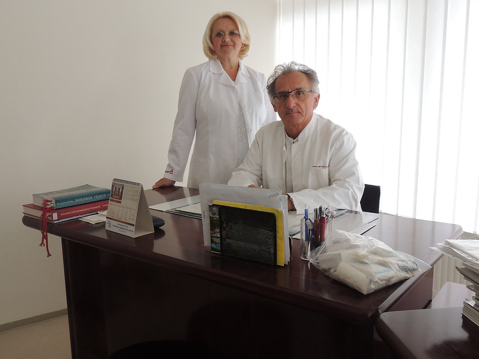 Poliklinika Semiz, dr Semiz, Poliklinika Prijedor