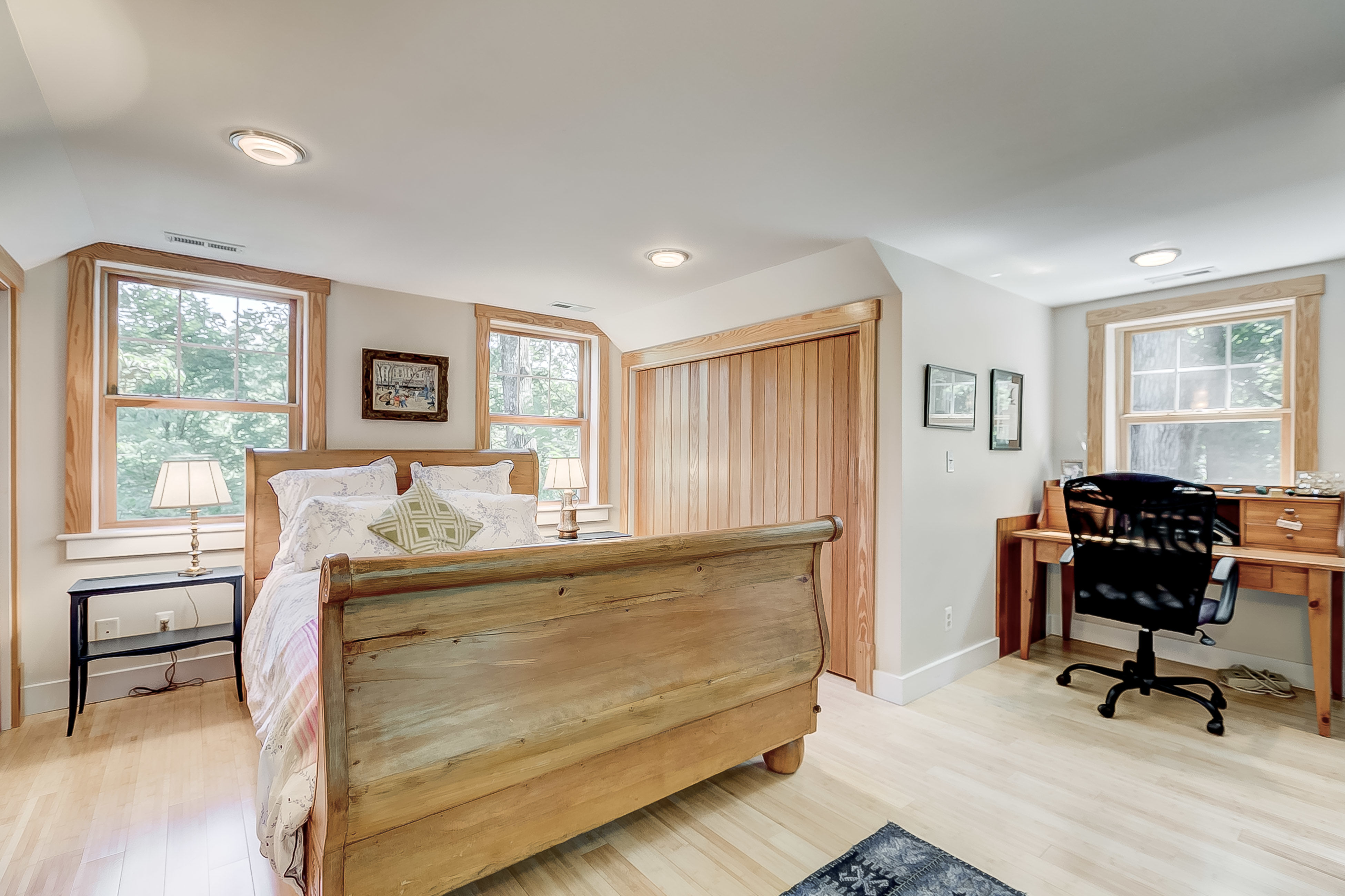 value those solid wood accordian doors from way back when