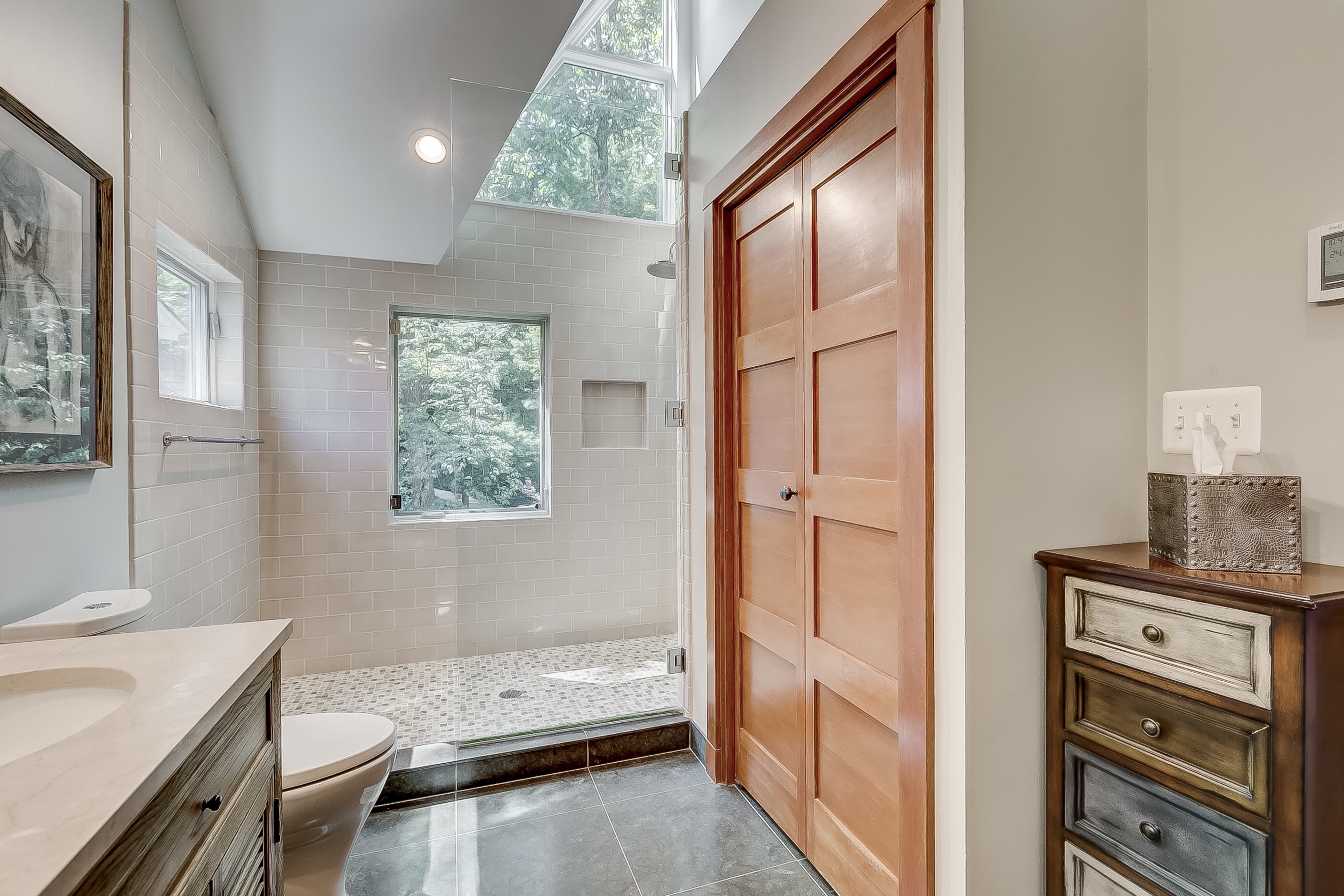 behold the shower to beat all showers