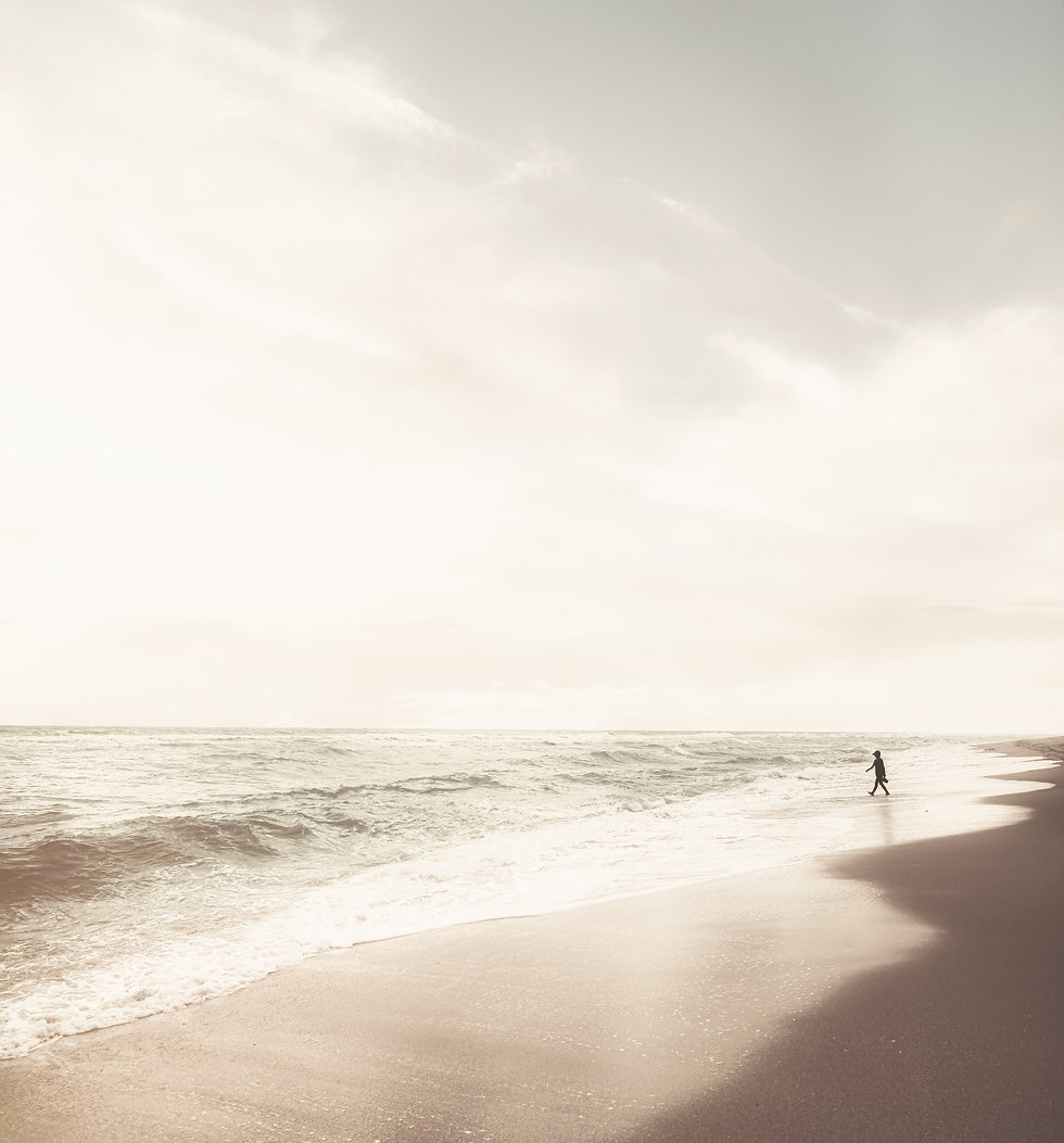 silhouette-of-person-walking-on-beach-37