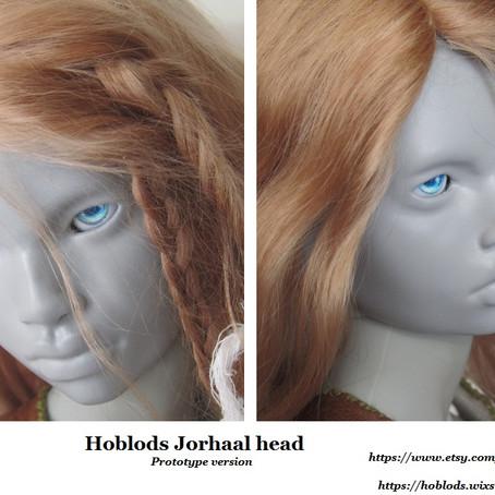 ENGLISH: Jorhaal, 1/3 head