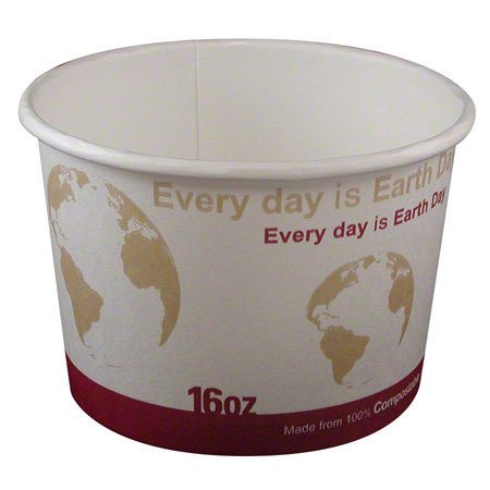Imex Earth Day Compostable Paper Food Containers