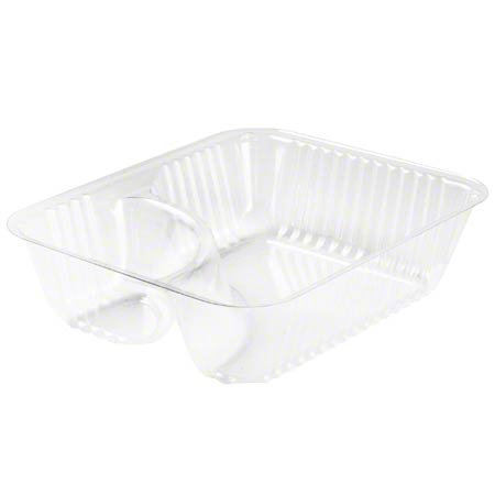 Click to Enlarge  Dart® ClearPac® Container - Small Nacho Tray, Clear