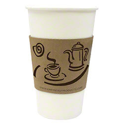 Hot cup sleeve