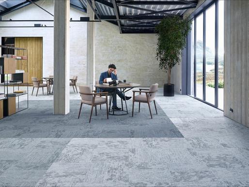 Płytki dywanowe - kreatywne wykładziny obiektowe