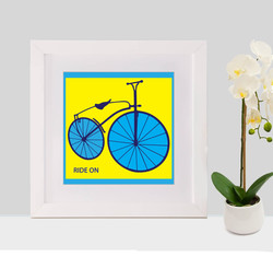 ride on with frame