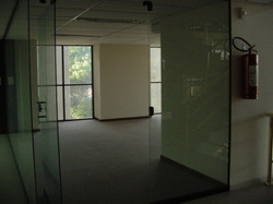 Entrance view, existing space