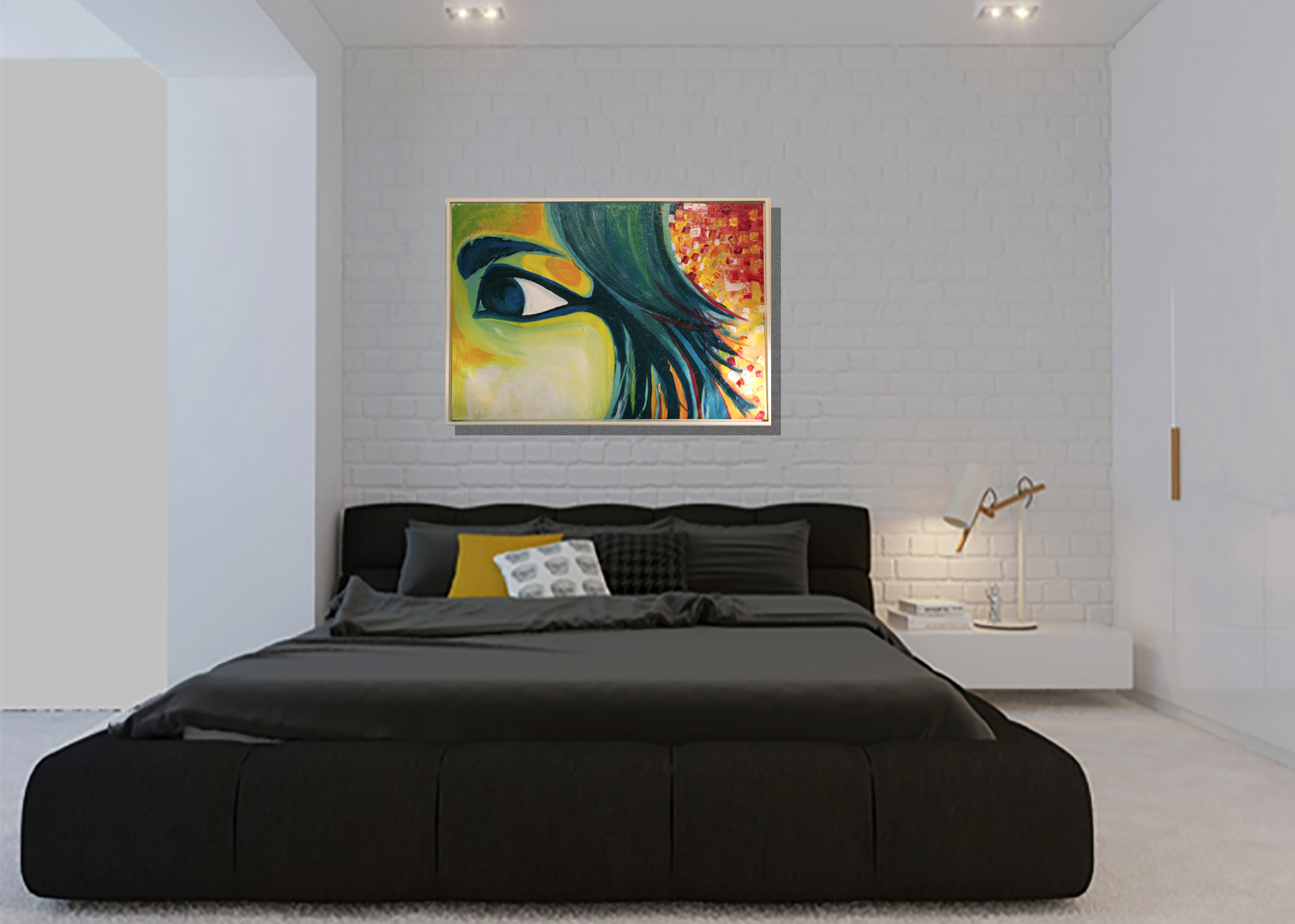 modern-minimalist-bedroom-selfportrait