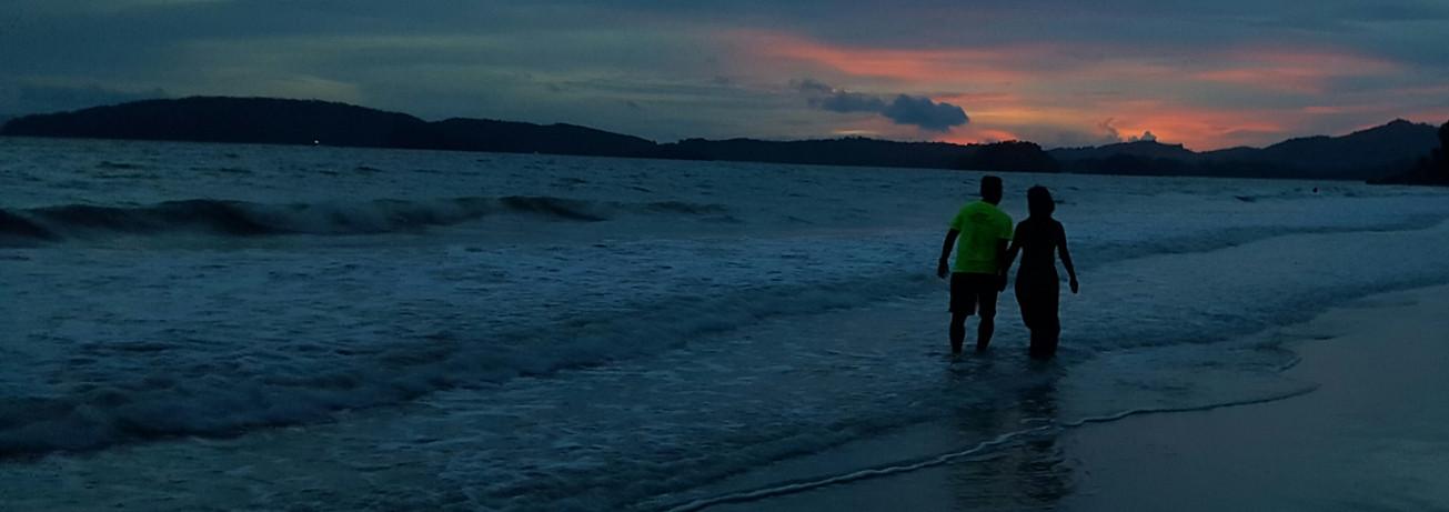 Phuket Sunset, Wind in my hair.