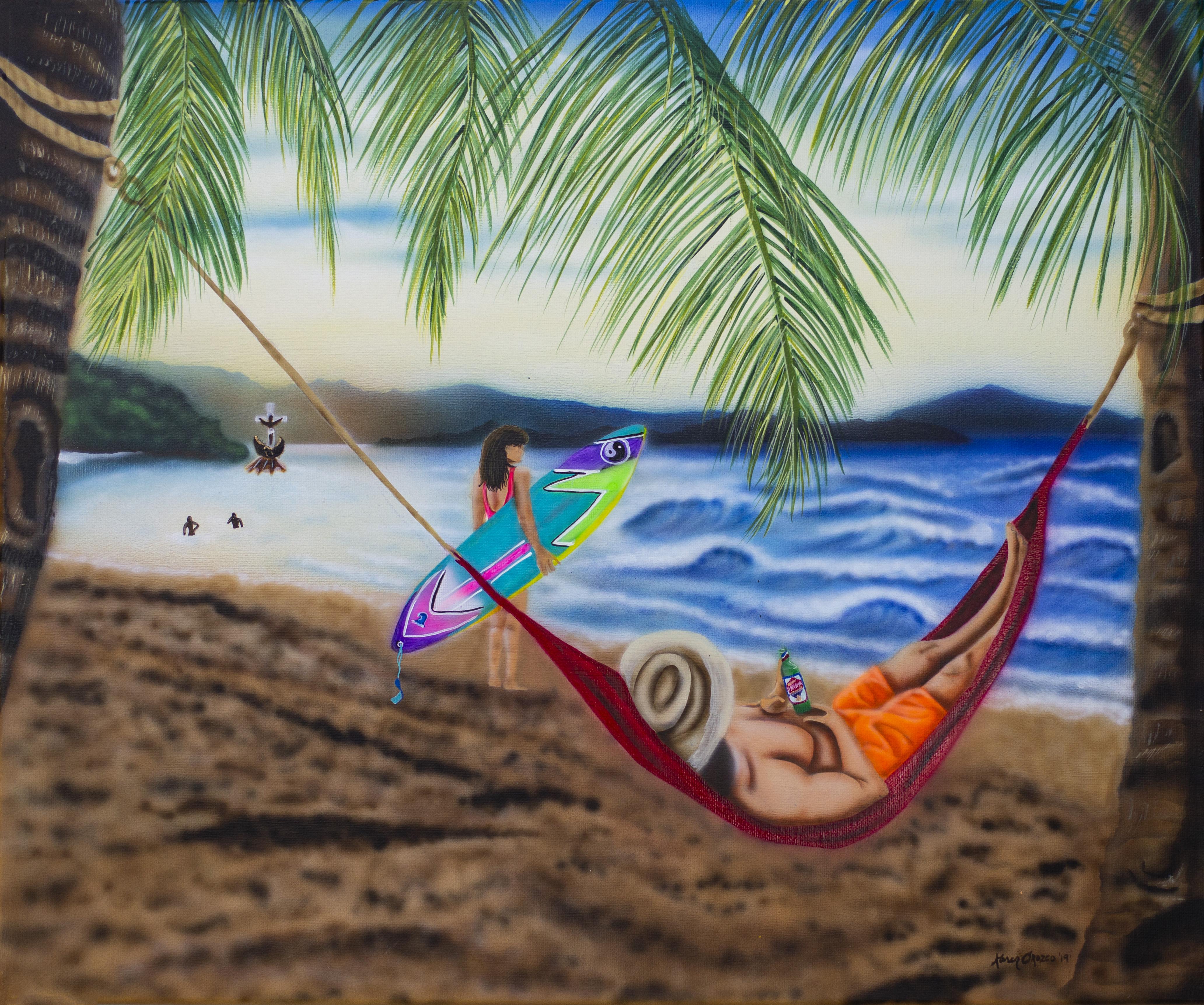 Día en la playa con papa Isla Grande
