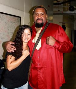 Ex Heavy Weight Champ Shannon Briggs
