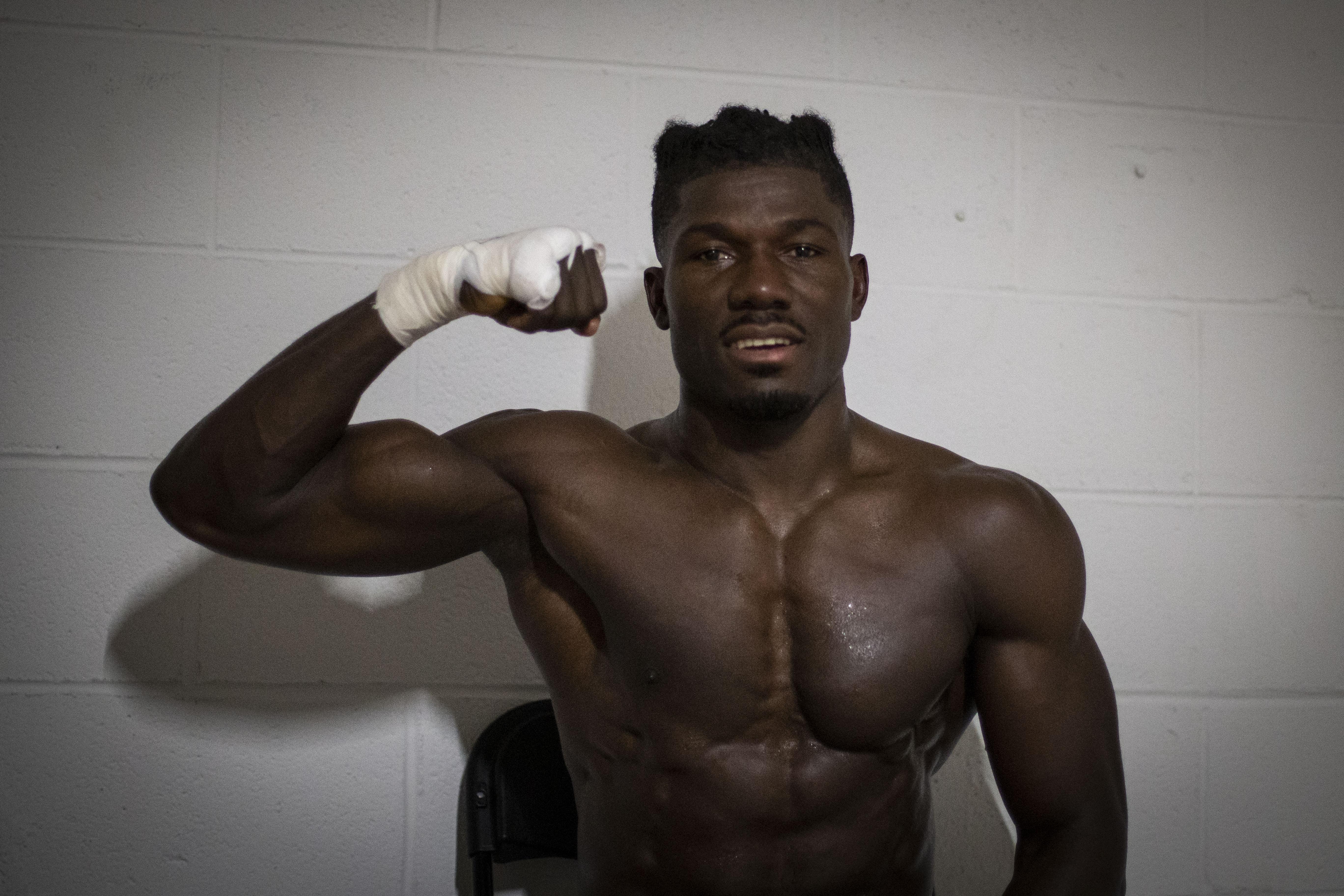 Nashville Boxer Sena Agbeko