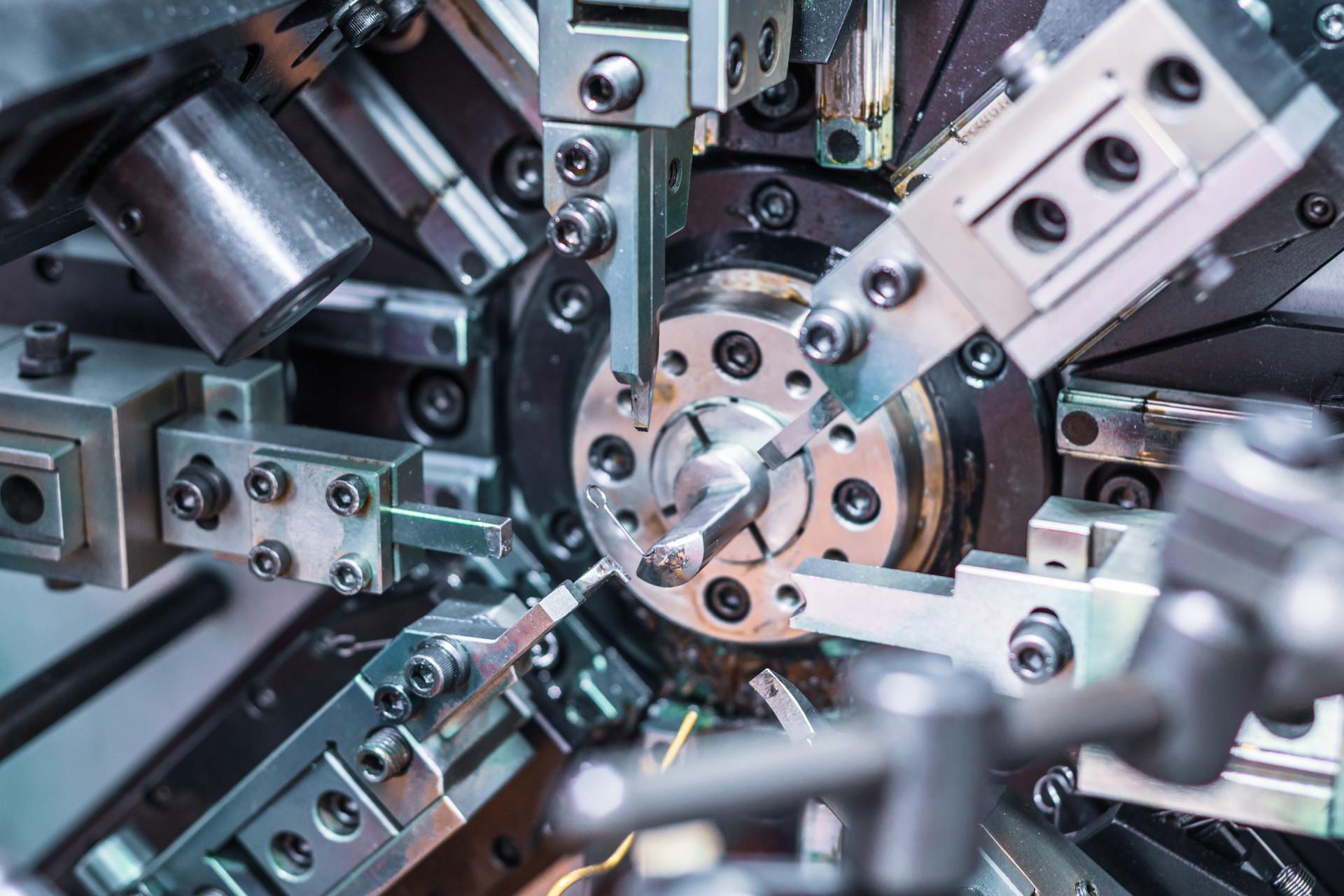 Automatic CNC bending machine. Manufactu