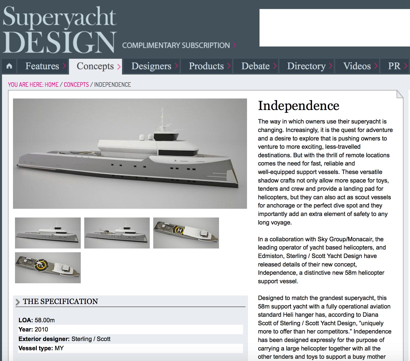 Superyacht Design