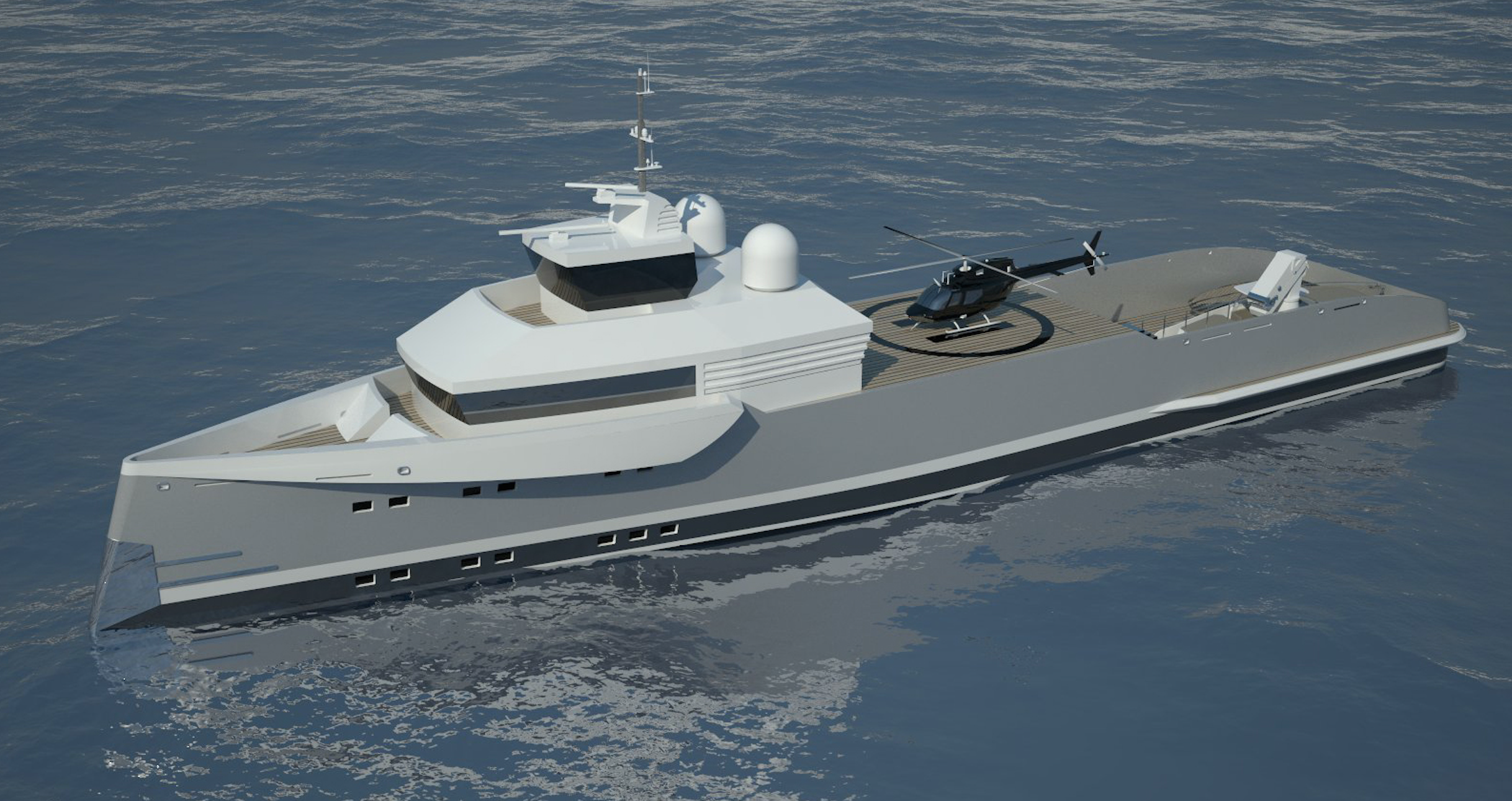58m Support Vessel