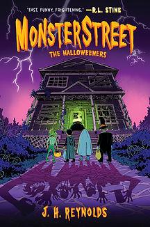 The Halloweeners (Monsterstreet #2) - Fi