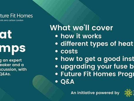 Heat Pumps for Your Home Webinar