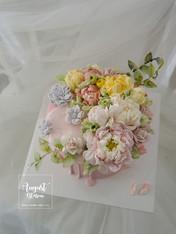 Buttercreamflower cake_02