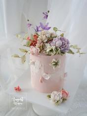Buttercreamflower cake_04