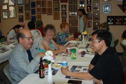 Fr. Khoi conversing with Armando