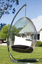 Stainless Steel Hanging Egg Chair