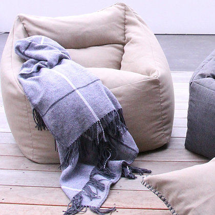 Outdoor Bean Chair - Natural