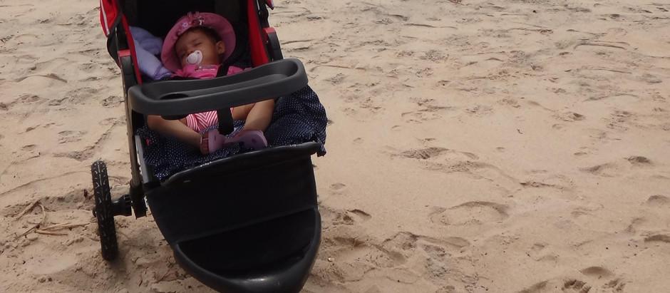 Carregando o bebê