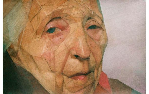 Mané 4, pastel sur toile, 2005, 100 x 145 cm