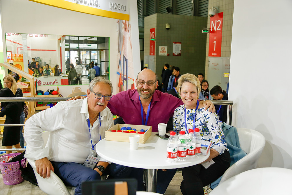 From left to right Jan De Jon CEO of EEG, Aki Margaritis, Executive Director of ETC, Erika Ohlhaver, Vice President and curriculum director of ETC