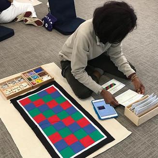 Connecting Digital Media and traditional Montessori curriculum