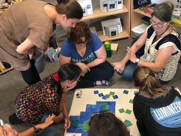 The ETC Montessori Map Game