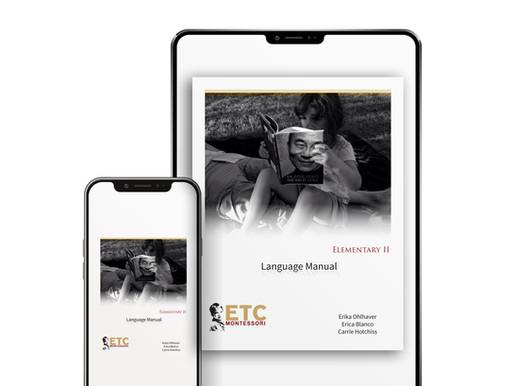 ETC Montessori Releases Digital Teacher Training Manuals