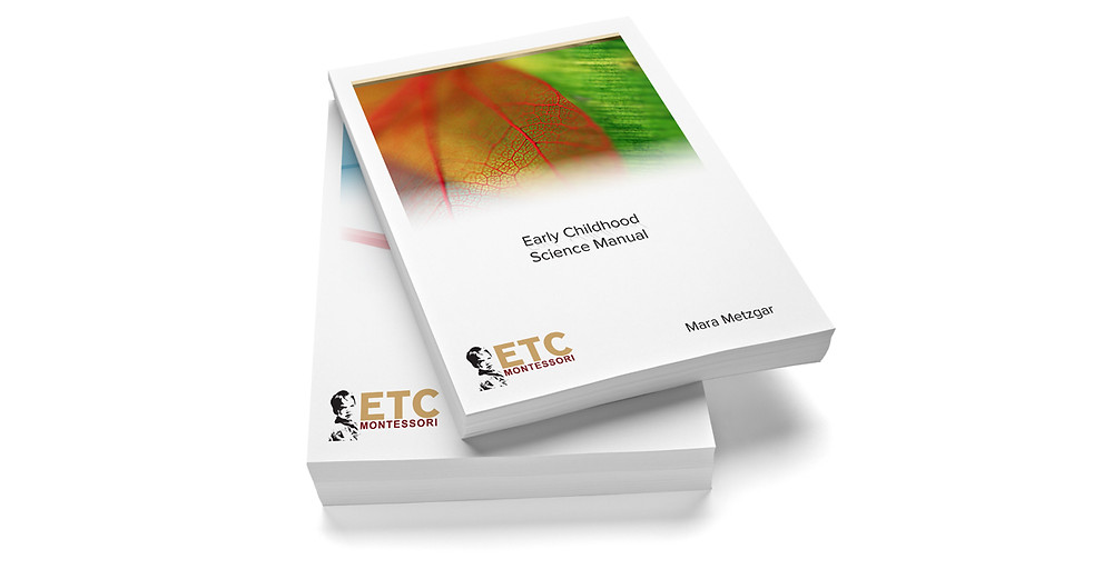 Teacher Training manuals by ETC Montessori