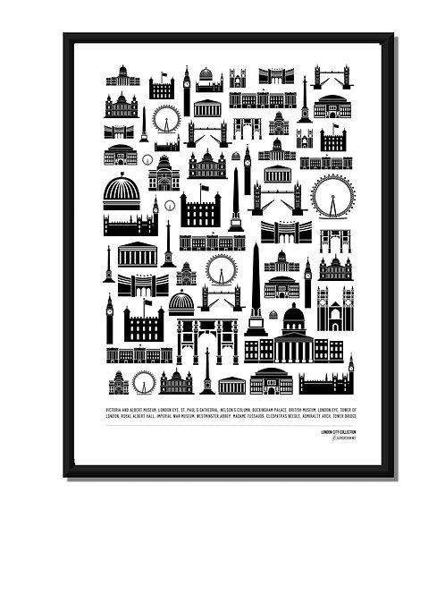 LONDON CITY COLLECTION - LONDON LANDMARKS