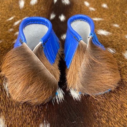 Moccasins - 7.5cm - Fluffy Blue