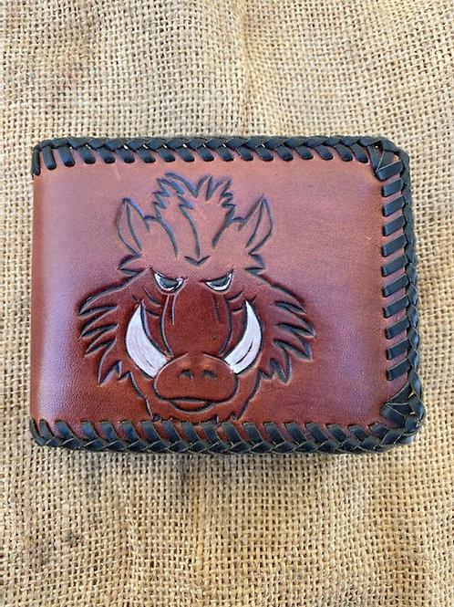 Standard Wallet - Red Pig