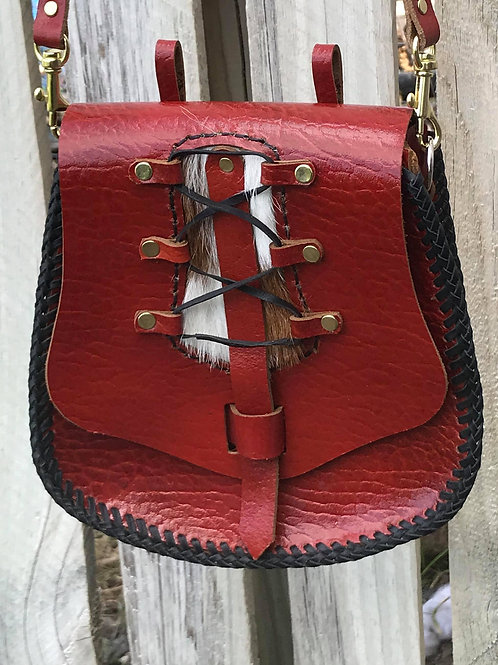 Shoulder Bag - Red