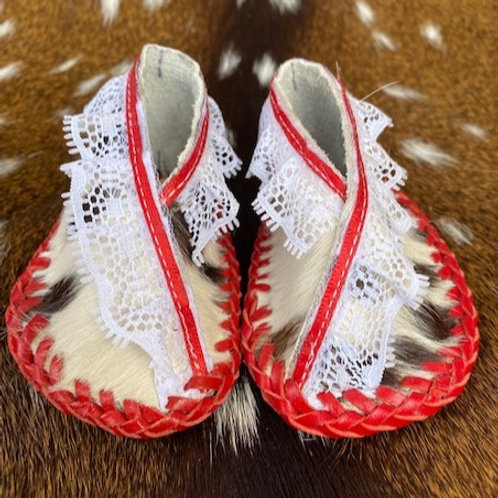 Moccasins - 8.5cm - Red