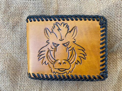 Standard Wallet - Brown Pig