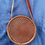 Thumbnail: Round Bag With Cowhide