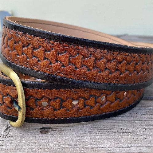 Men's Patterned Belt