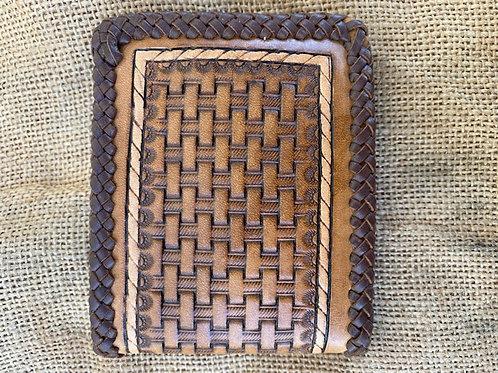 Standard Wallet - Basket Weave