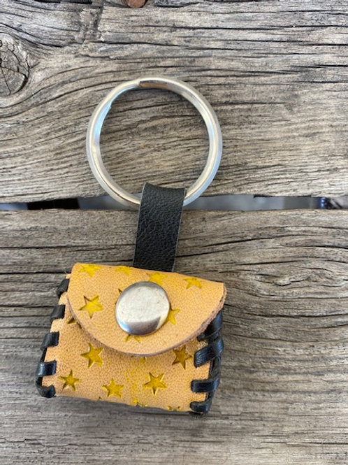 Coin Pouch Keyring - Stars