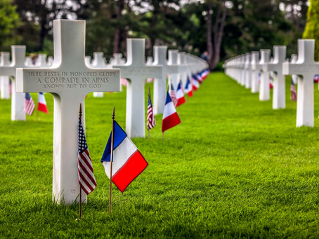 Memorial Day in Normandy