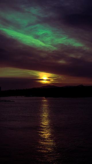 Aurora Sunset