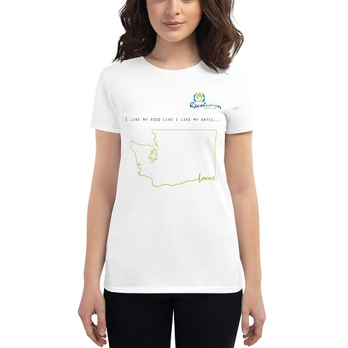 Women's - I like my Dates Local WA - Front Logo