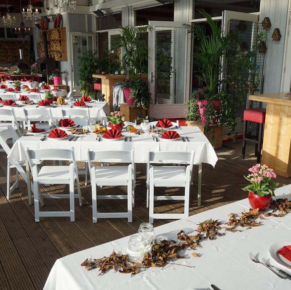 Gedekte tafels