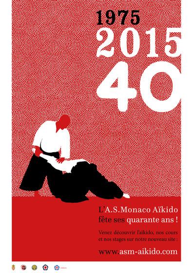 L'ASMonaco Aïkido a 40 ans !